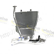 Kit radiator alpha Racing, hand welded, optimized