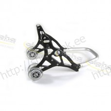Front stand alu black