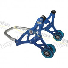 Front stand alu blue