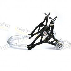Rear stand alu black