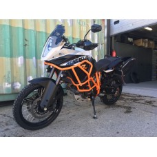 KTM adventure crash bars