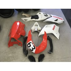 DUCATI 1098 race fairing set