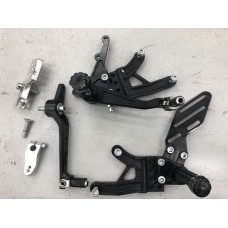2015-2018 S1000RR Alpha Racing footrests