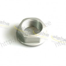 Hexagonal rear axle nut alpha Racing 32mm