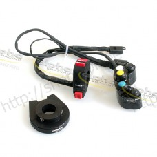 Conversion kit handlebar switches alpha Racing HP4