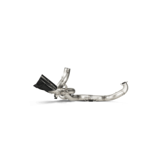 Akrapovic Optional Header (Titanium) E-D12E4