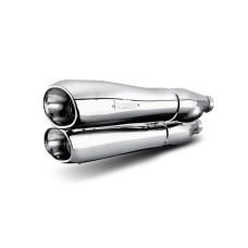 Akrapovic Slip-On Line (Chrome) S-HDDYSO1-HC