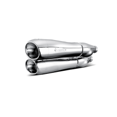 Akrapovic Slip-On Line (Chrome) S-HDSTSO1-HC