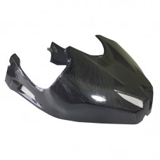 Fuel tank cover carbon fiber for race tail adj.