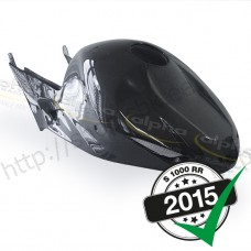 Fuel tank cover, compl.tank, carbon, 2015-