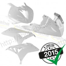 Fairing kit fiberglass GRP 4-piece white 2015- FIM