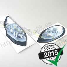 "Sticker kit ""head lights"" BMW S1000RR '15-"