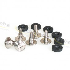 alpha Racing screw set camshaft cover titanium