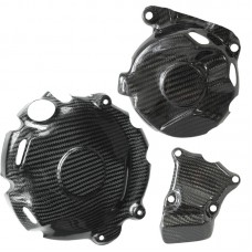 Engine cover protection kit, carbon