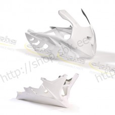 Fairing Kit GFK 2-piece white