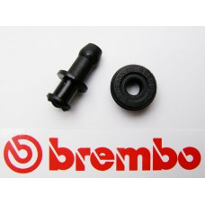 Brembo inlet adaptor 'straight' for master cylinder, rear and front