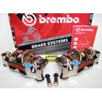Brembo Radial Calipers CNC GP4-RX 130mm Kit le/ri R1, '07-'14