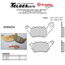 Brembo Pure Racing-Brake Pads Z04, front, M068Z04