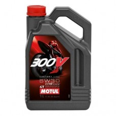 Motor Oil Motul 300V 4T Factory Line 5W-30, 4L+ FREE OIL FILTER