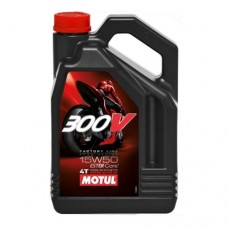 Motor Oil Motul 300V 4T Factory Line 15W-50, 4L+ FREE OIL FILTER
