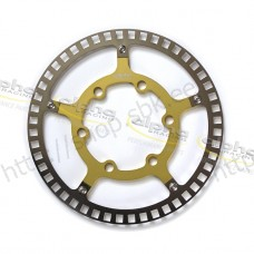 Sensor ring front ABS/DTC gold f. racing rim