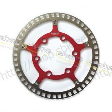 Sensor ring front ABS/DTC red f. racing rim