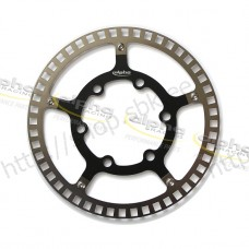 Sensor ring front ABS/DTC black f. racing rim