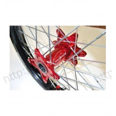 "Marchesini Rock wheel - BETA front 21""-1.60""- black/red"